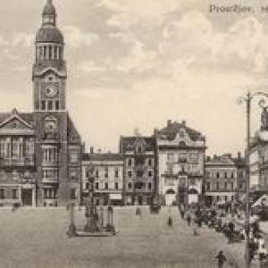 Historické pohledy Prostějova