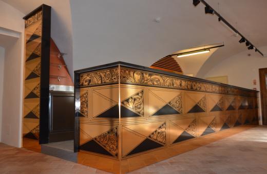 Prostějovský zámek má nově opravené přízemí - fotogalerie